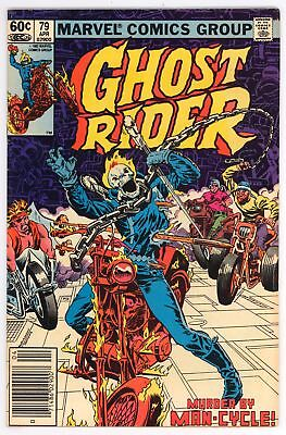 Ghost Rider (1973) #79 NM- 9.2 Vs Freakmaster