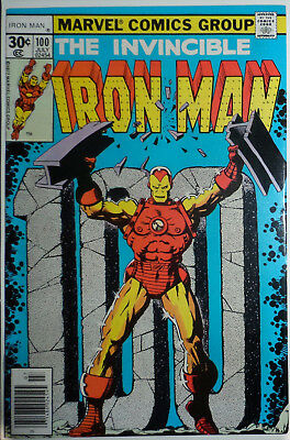 Iron Man #100 (Cents Issue) Vfn+