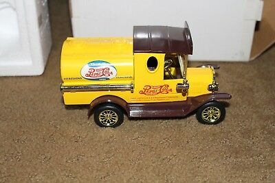 Golden Wheels Pepsi-Cola Die Cast Model T Truck Nib