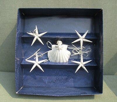 Margaret Furlong 1991 Starry Night Collection Angel & 4 Stars Original Box