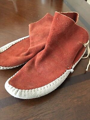 Navajo Leather moccasins