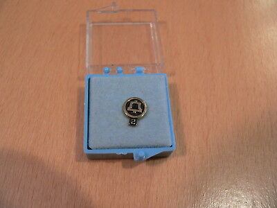 1970's Mountain Bell Telephone 2 Year Service Lapel Pin 1/10 10K Gold Filled