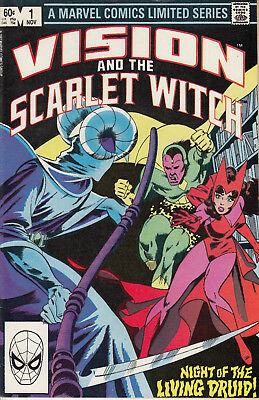 Marvel Comics Vision and the Scarlet Witch #1-4, complete, VF-NM!