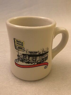 Waffle House 2012 Collectible Mug - Diner Art (excellent condition)