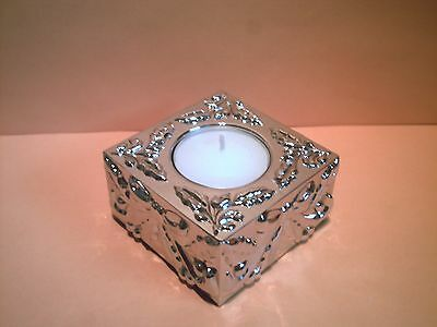 Lenox Silverplated Gift Votive Holiday Candle / SKU #825254