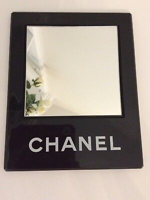 💯%auth Chanel Store mirror display sign handbag bottle dummy factice shoes