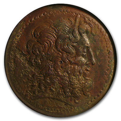 Ptolemaic Bronze AE43 King Ptolemy IV (222-205/4 BC) Ch XF NGC - SKU#174907