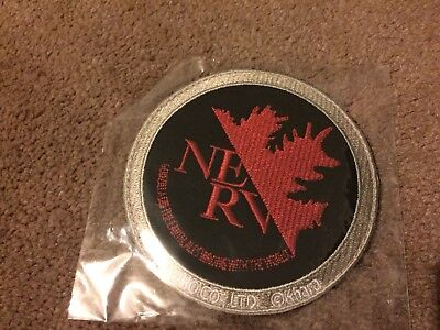 Godzilla vs. Evangelion Godzinerv patch (Red x Black) Official Rare collectable