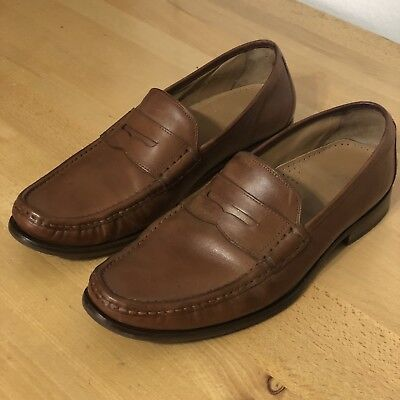 fb4cc1d4fa2 Cole Haan Aiden Grand OS Penny II Loafer Slip On Brown Mens Sz 9.5 C22771