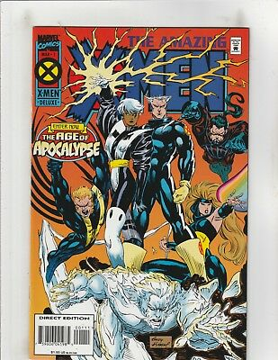 Amazing X-Men (1995) #1 NM- 9.2 Marvel Comics AoA;Wolverine,Magneto,Rogue