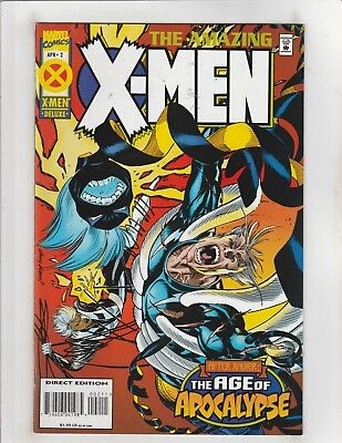 Amazing X-Men (1995) #2 NM- 9.2 Marvel Comics AoA;Wolverine,Magneto,Rogue