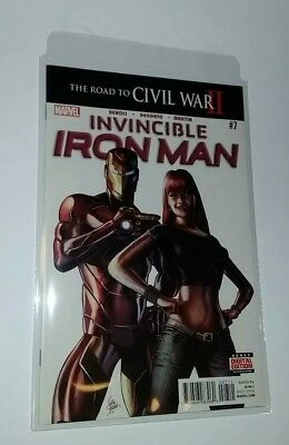 Marvel Comics Invincible Iron Man 7 1st app Riri Williams Ironheart 1st print