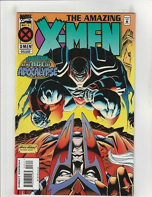 Amazing X-Men (1995) #3 VF/NM 9.0 Marvel Comics AoA;Wolverine,Magneto,Rogue