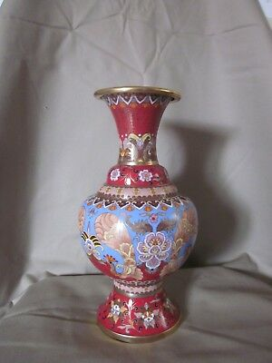 """Jingfa  Very Fine Vintage Antique Chinese Vase 10"""" Tall"""
