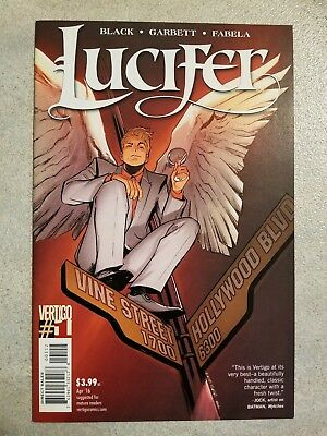 Lucifer #1 Vol.2 Second Print (Vertigo, April 2016)