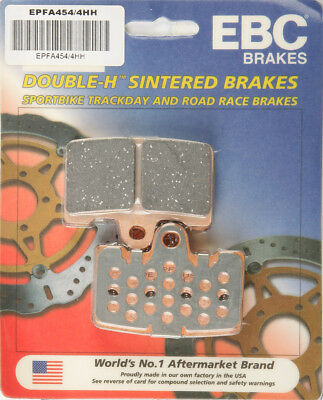 Sintered Track-Day Brake Pads EBC EPFA454/4HH Buell 1125 1190 Lightning