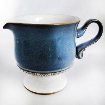 "CASTILE by Denby Creamer 3.5"" tall NEW NEVER USED made in England"