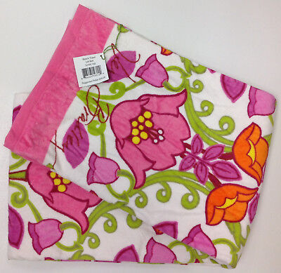 VERA BRADLEY Beach Towel Lilli Bell #12755-142 - New with Tag