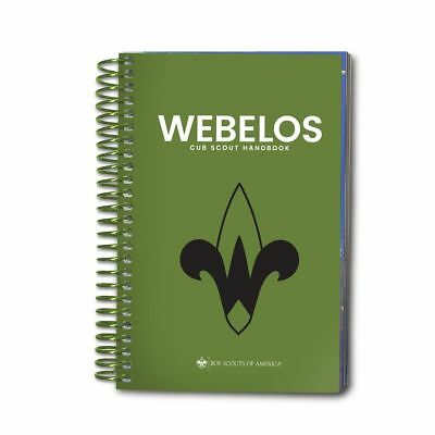 The Official Boy Scout of America Webelos Cub Scout Handbook 2018 New