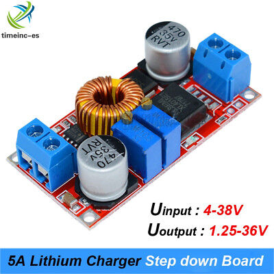 5A DC CC CV Lithium Battery Step down Charging Board Led Power Converter XL4015