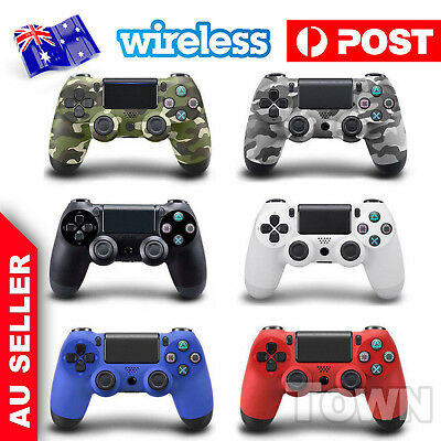 Playstation 4 PS4 Doubleshock Wireless Controller Joy Pad Bluetooth Colours AU