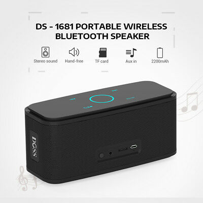DOSS DS-1681 Portable Touch Wireless Bluetooth Stereo Sound Speaker Mini Player