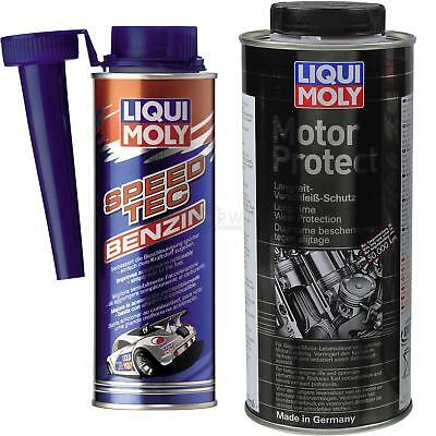 Originale Liqui Moly Set Speed Tec Benzina Und Motorprotect