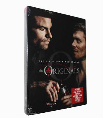 The Originals Season 5(DVD, 2018, 3-Disc Set)brand new Free shipping