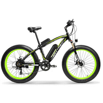 Cyrusher XF660 Electric Bike 500W 48V 7 Speed 26inch Fat Tire Mountain Bicycle