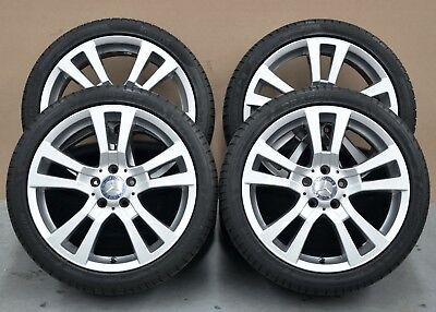 18 Inch Genuine Mercedes Benz C-Class Staggered Wheels and Pirelli Tyres