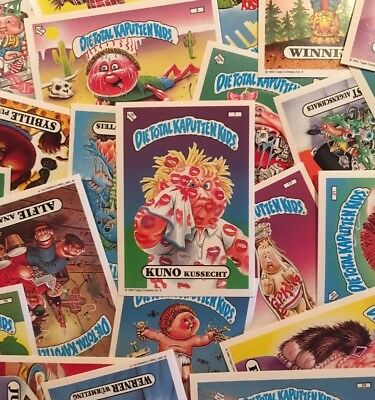 "1994 German Garbage Pail Kids ""Die Total Kaputten Kids"" YOU PICK SINGLES NRMT-MT"