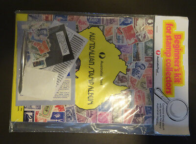 Australia Post Stamp Album Beginners Kit in original packaging 1970s