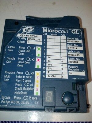 Microcoin QL Q5232-DO Vending Coin Acceptor
