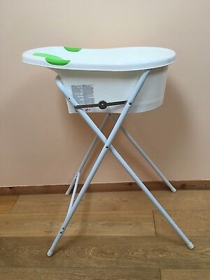 TIPPITOES BABY BATH with stand - £10.00 | PicClick UK