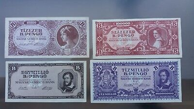 Old B-Pengo LOT of Hungary, 1946
