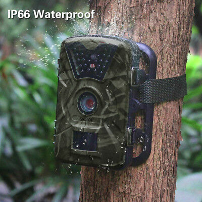 Hunting Trail Camera 90° HD 1080P 12MP IR Wildlife Scouting Cam Night Vision UK