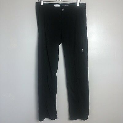 COLUMBIA WOMEN'S JUST RIGHT STRAIGHT LEG PANT Omni-Shield Stretch Hike Size 10