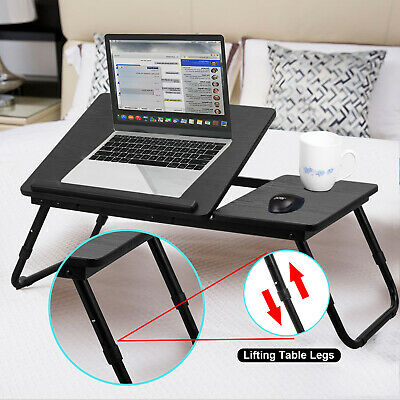 Laptop Stand Desk Computer Dinner Tray Table Portable Bed Sofa Tablet Pad Holder