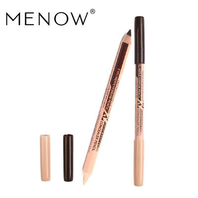 Eyebrow & Concealer 1 Pcs 2 In 1 Pencil Long-lasting Waterproof Natural Make up