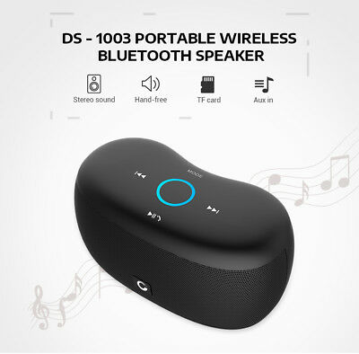 DOSS DS-1003 Portable Touch Wireless Bluetooth Stereo Speaker Mini Player w/ Mic