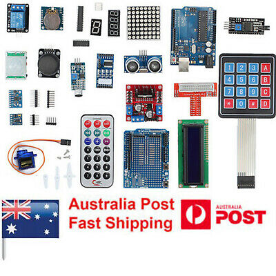 DIY Professional UNO R3 Starter Kit for Arduino LCD Compass Gyro NEW