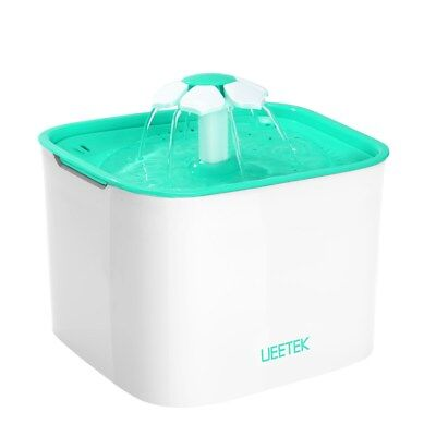 UEETEK Pet Water Fountain Health Caring Fountain Drinking Fountain for Dogs Cats