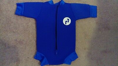 two bare feet baby wetsuit medium m 3-6 months