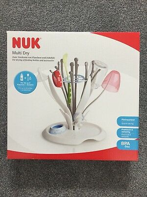 NUK Multi Dry Rack for baby bottles and accessories