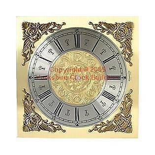 Grandfather replacement clock dial 280mm x 280mm suitable for Longcase free p&p