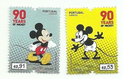 Portugal 2018 - 90 Years Mickey set MNH