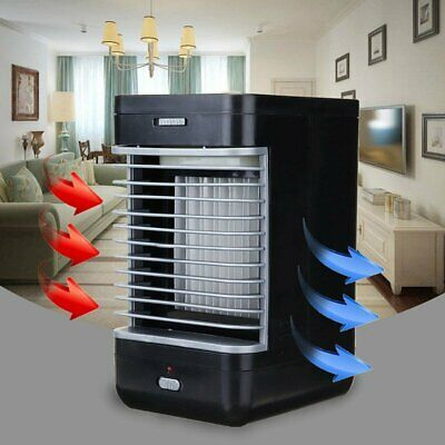 Small  Portable Mini Air Conditioner Cool Cooling For Bedroom Artic Cooler Fan