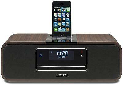 Roberts Sound 100 CD/DAB/FM stereo digital system with ipod dock And Free iPod