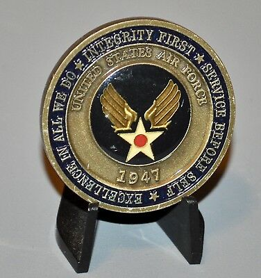 USAF Air Force Becoming An Airman Basic Training Challenge Coin