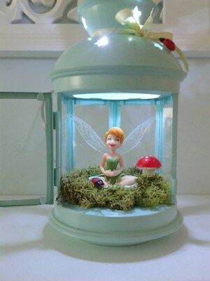 Kids hand crafted tinkerbell night light / lamp battery operated